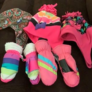 Other - LOT OF WINTER HATS AND GLOVES